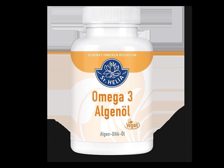 St. Helia Omega 3 Algenöl, 90 Kapseln für 3 Monate