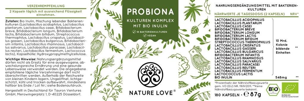 nature love Probiona Kulturen Komplex