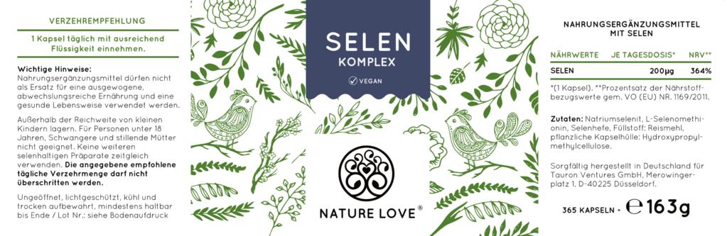 nature love Selen Komplex