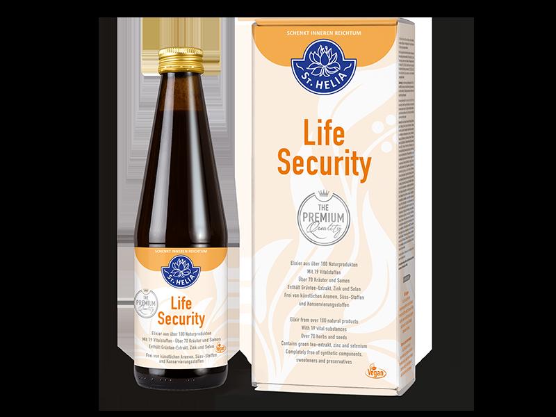 St. Helia Life Security PREMIUM, Flasche à 330 ml für 1 Monat