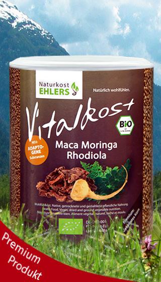 Naturkost Ehlers Vitalkost Maca Moringa Rhodiola