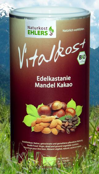Naturkost Ehlers Vitalkost Kakao-Edelkastanie-Mandel